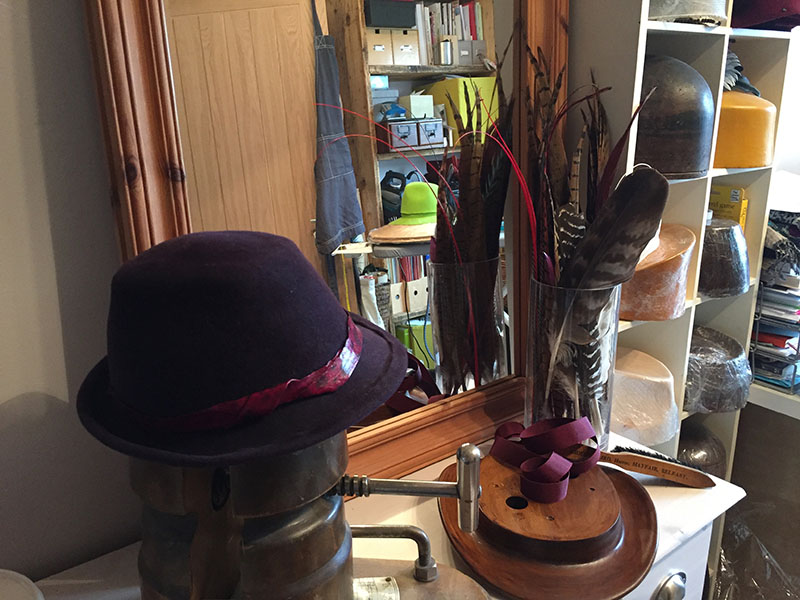 Becoming a milliner