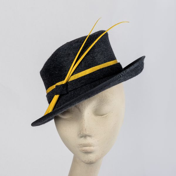 Made to Measure Ladies Fur Felt Fedora Hat